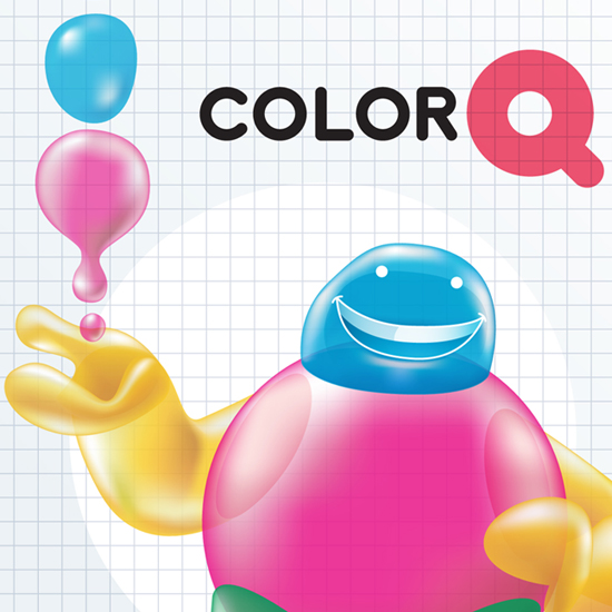 Color Q character